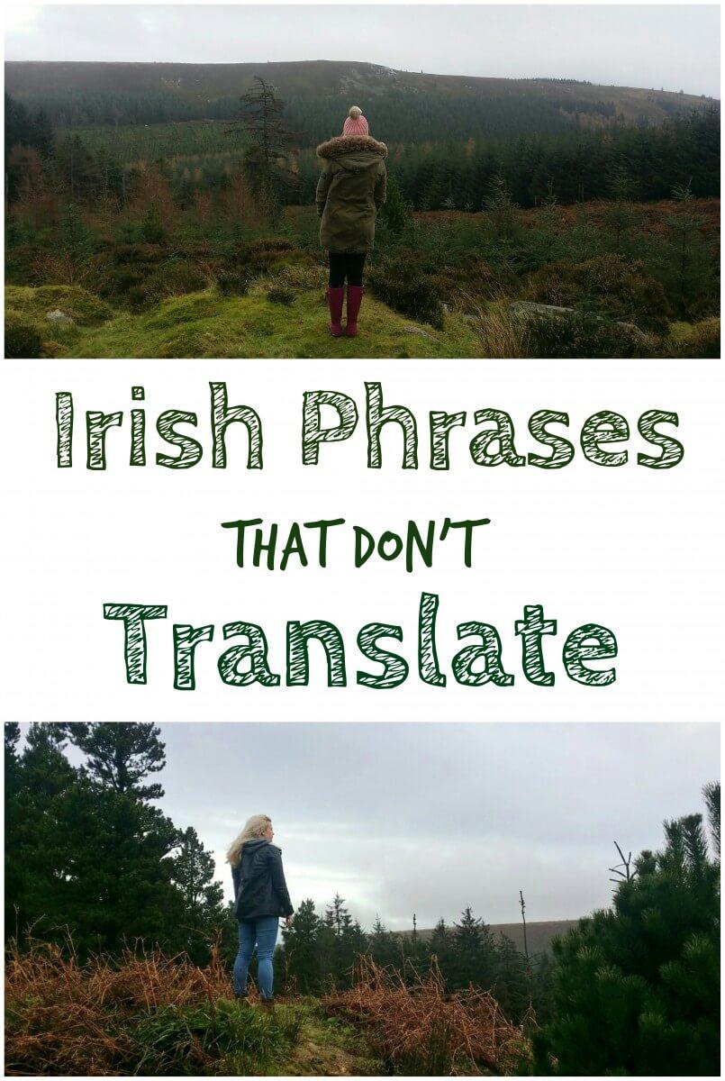 Irish Phrases That Don't Translate