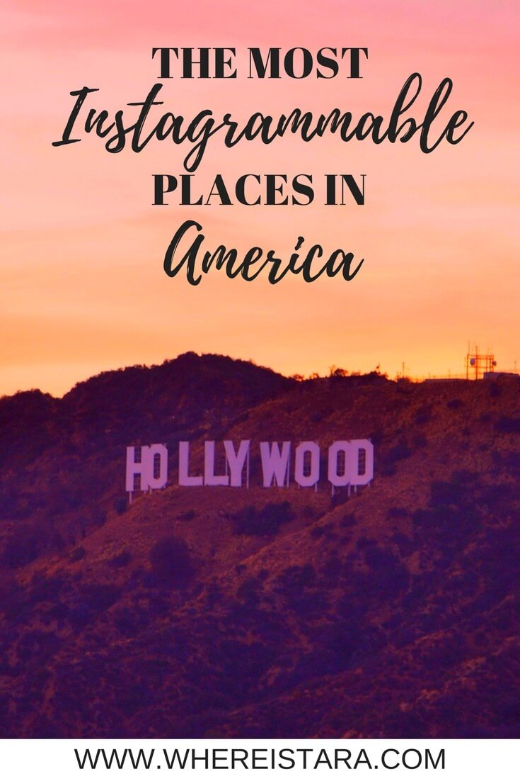 Instagrammable places in America where is tara