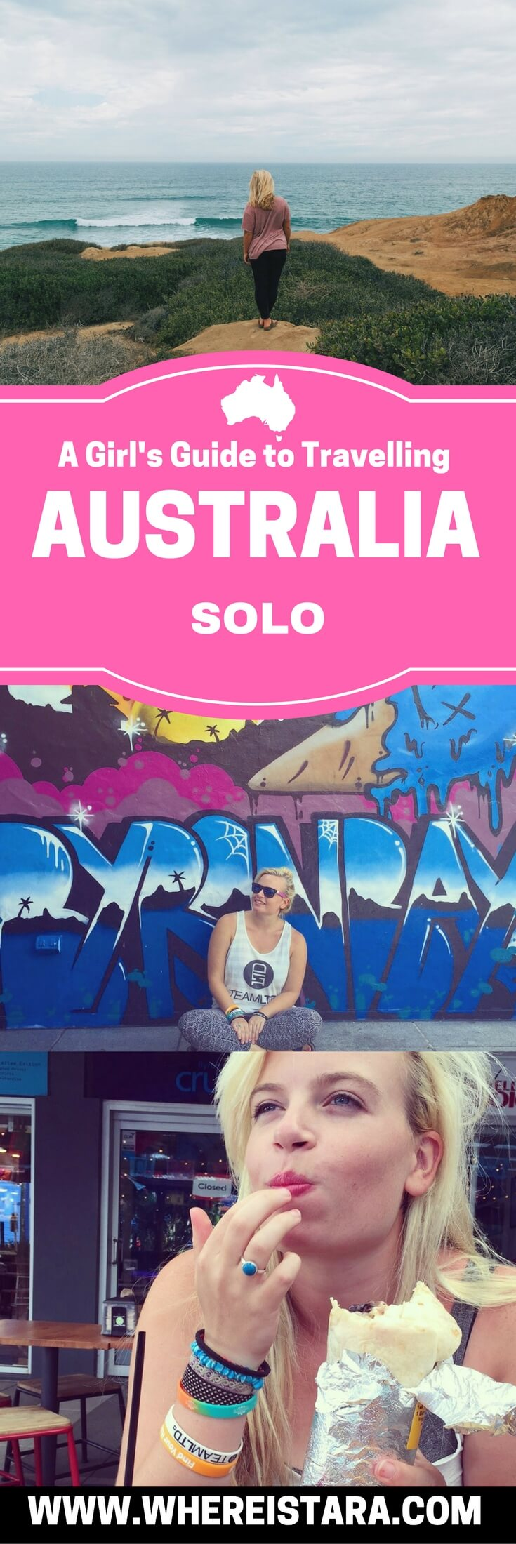 solo female travel australia travelling solo in Australia where is tara