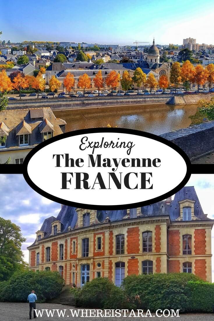 The Mayenne department region france pays de la loire where is tara