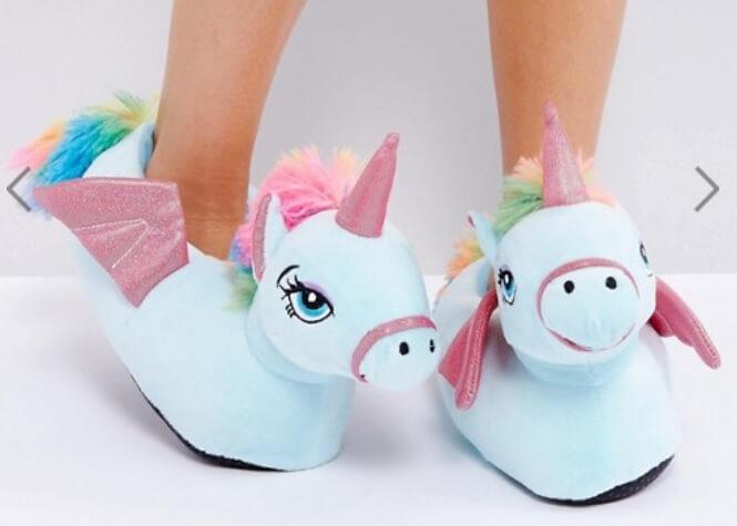 unicorn gifts slippers christmas travel gifts where is tara