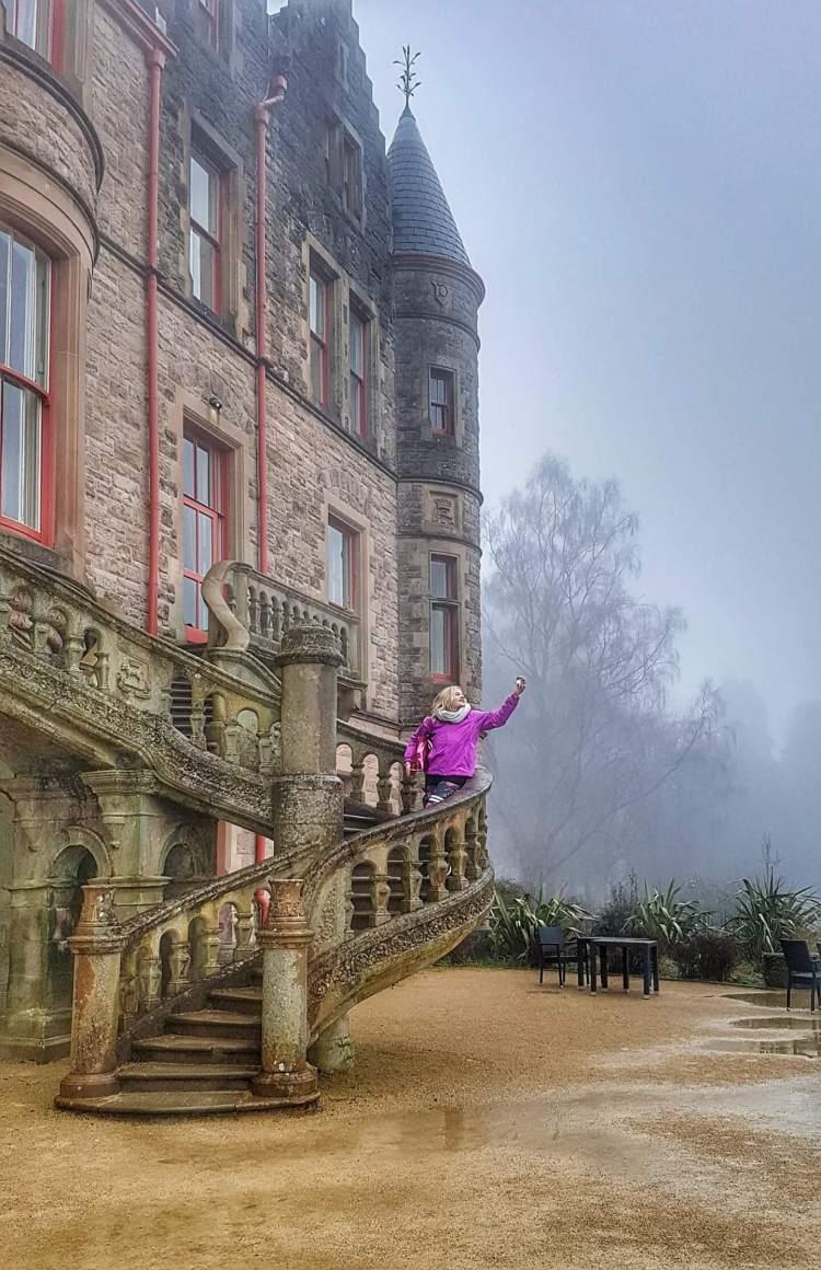 48 hours in belfast castle where is tara