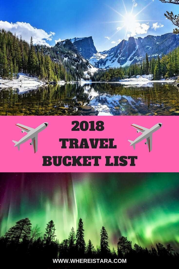 2018 TRAVEL BUCKET LIST WHere is tara povey top irish travel blog blogger