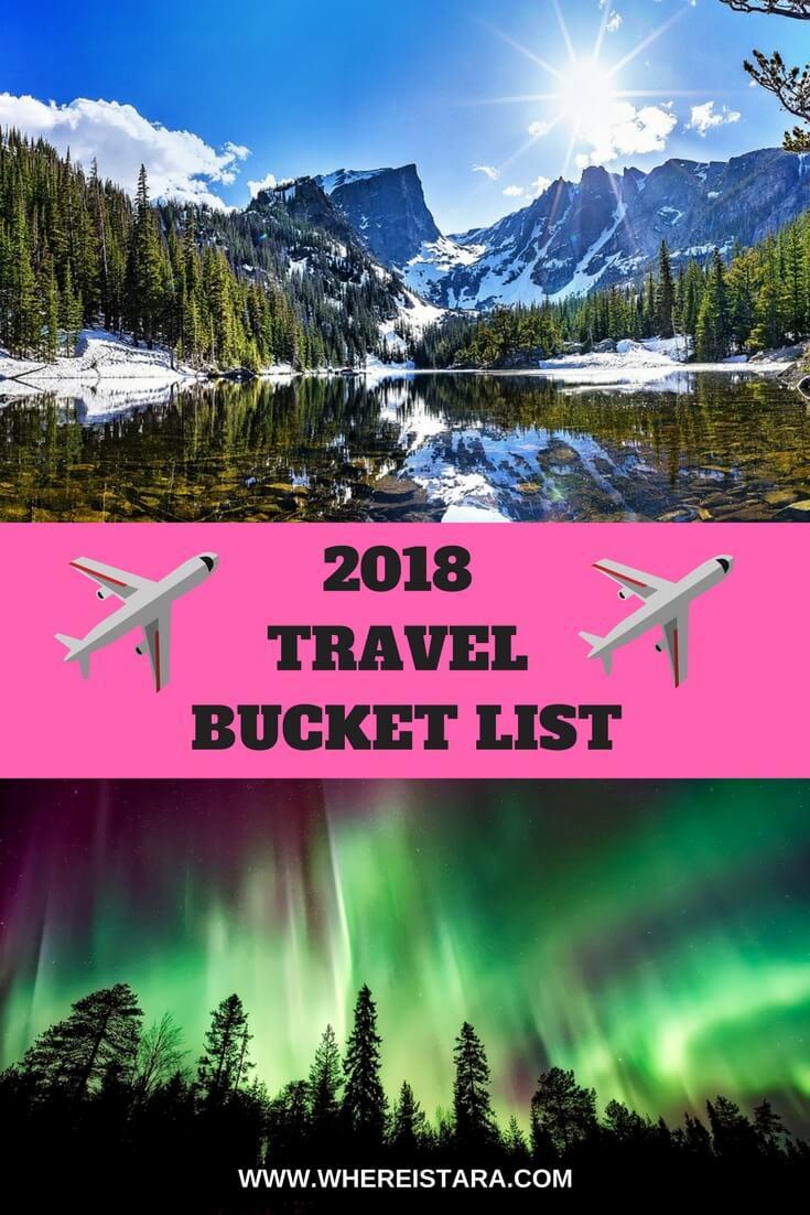 2018 TRAVEL BUCKET LIST WHere is tara povey top irish travel blog blogger