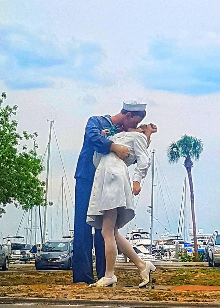Sarasota county surrender statue where is tara
