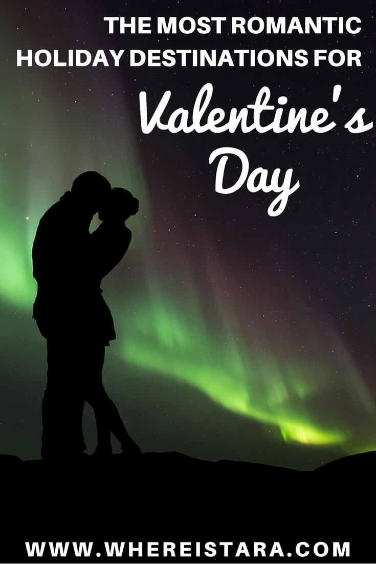 romantic holiday destinations for Valentines Day