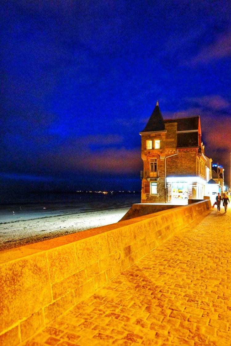 Saint Malo France sillion beach brittany beaches