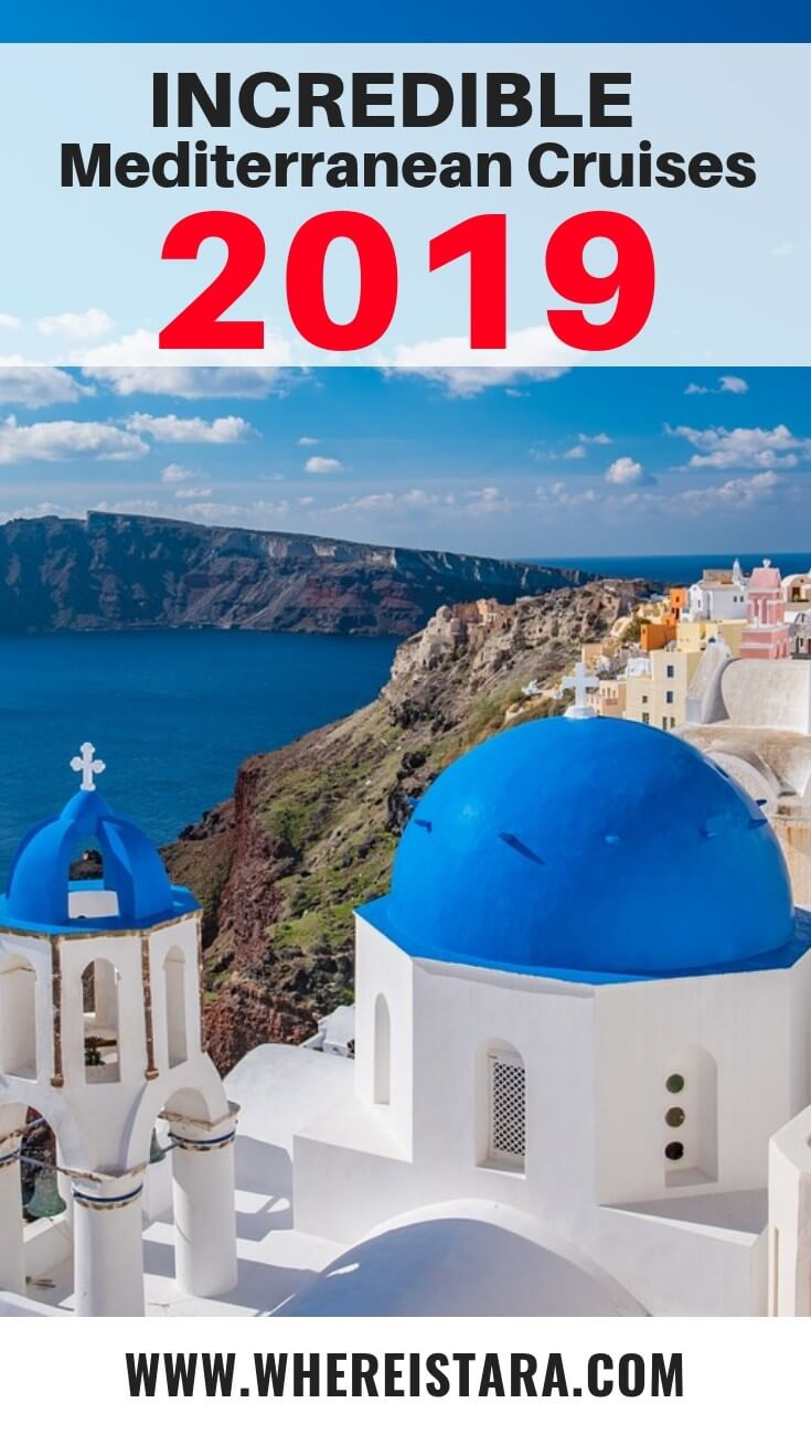 Mediterranean cruises 2019 pin celebrity cruises
