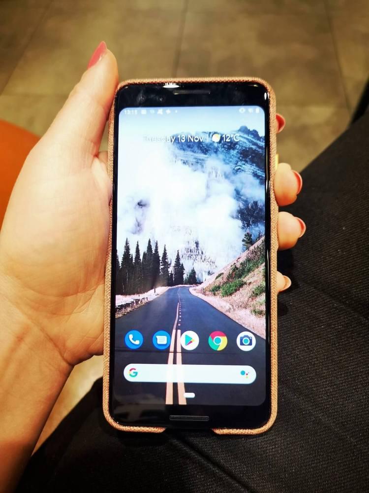 google pixel 3 review handset