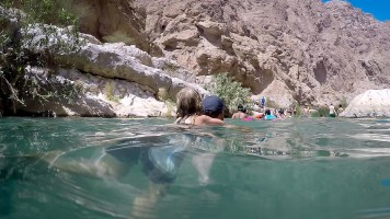 Wadi Shab Oman-