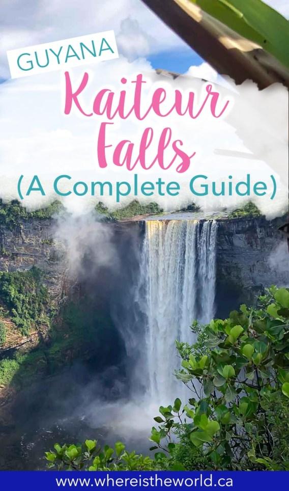 Kaiteur Falls Pinterest 3