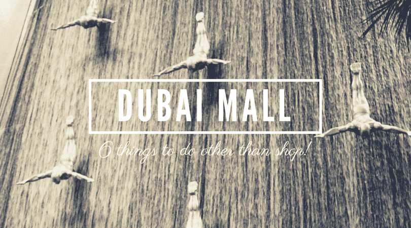 shopping at dubai mall