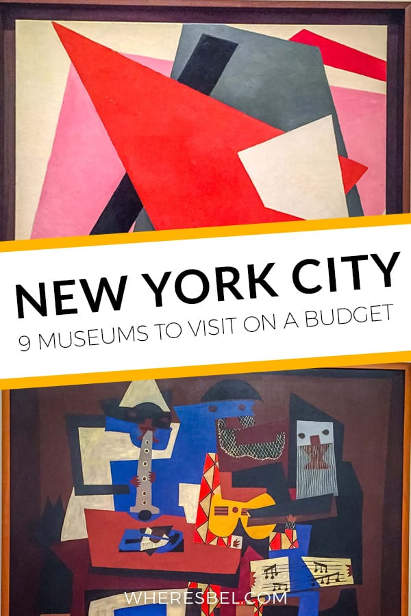 Visiting New York on a budget? One way to save money is by visiting NYC museums on their free admission days. Read the post to find out the best free times to visit NYC museums | Things to do in NYC | NYC Museums | Free Things to do in New York City | New York City on a Budget | NYC Travel Guide #NYC #NewYorkCity #Manhattan