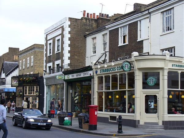 Starbucks Coffee Co UK Ltd 123a Kings Road London SW3 4PL