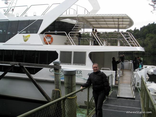 Gordon River cruise things to do in west tasmania