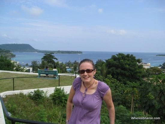 View in Port Vila Vanuatu honeymoon great things to do in Port Vila