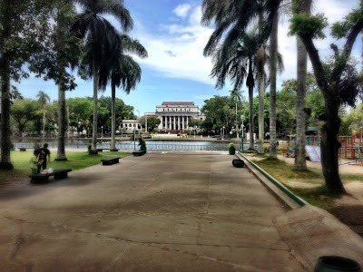 Nice park at Bacolod Philippines