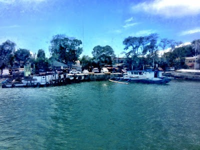 Arriving at Iloilo by boat - pier