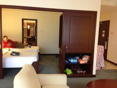 Bedroom at Berjaya Times Square Hotel Kuala Lumpur accommodation
