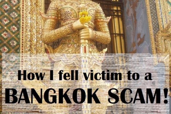 How I fell victim to a Bangkok scam!