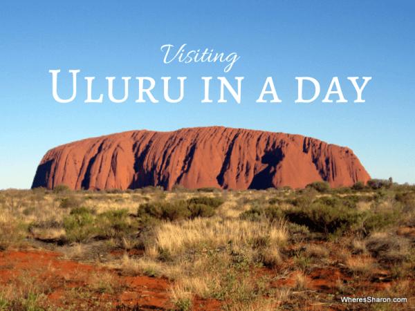 Visiting uluru in a day