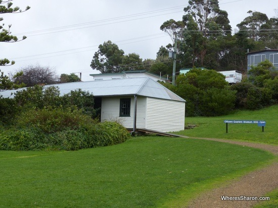 Officers' Quarters things to do on the Tasman Peninsula