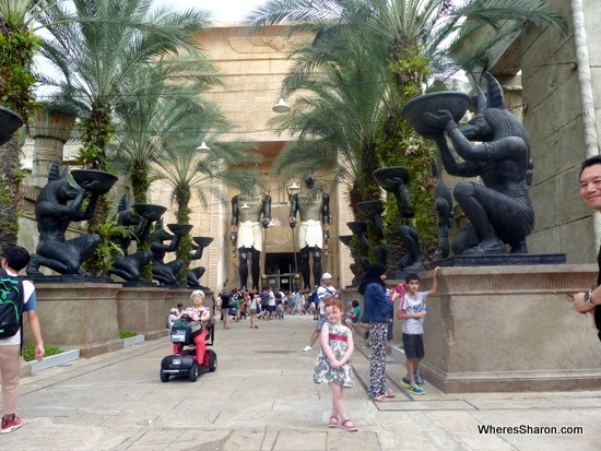 Ancient Egypt at Universal Studios Singapore review
