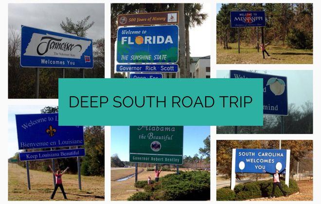 Deep South road trip