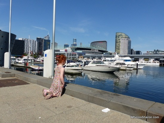 NewQuay Docklands with kids