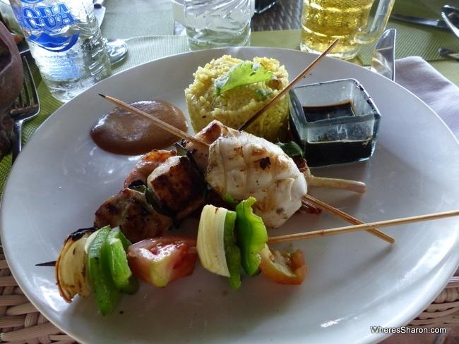 Grand Mirage Resort seafood