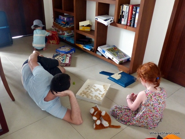 games in ubud airbnb house