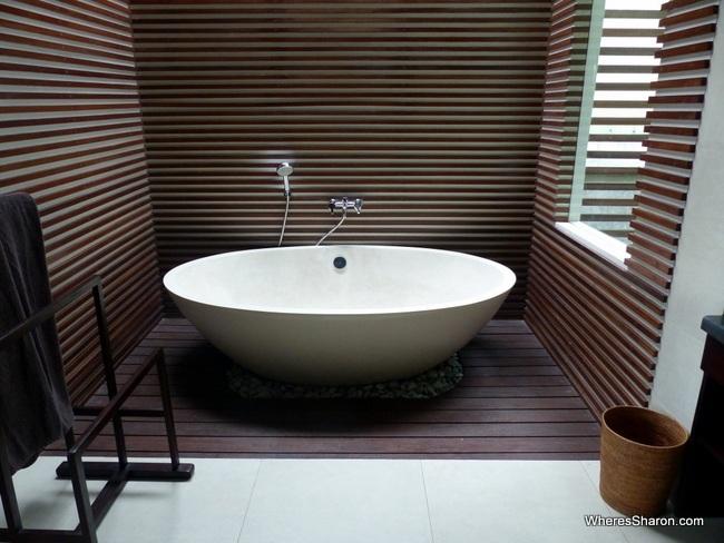 bathroom ubud family villa