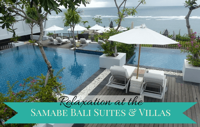 relaxation at the Samabe Bali Suites & Villas
