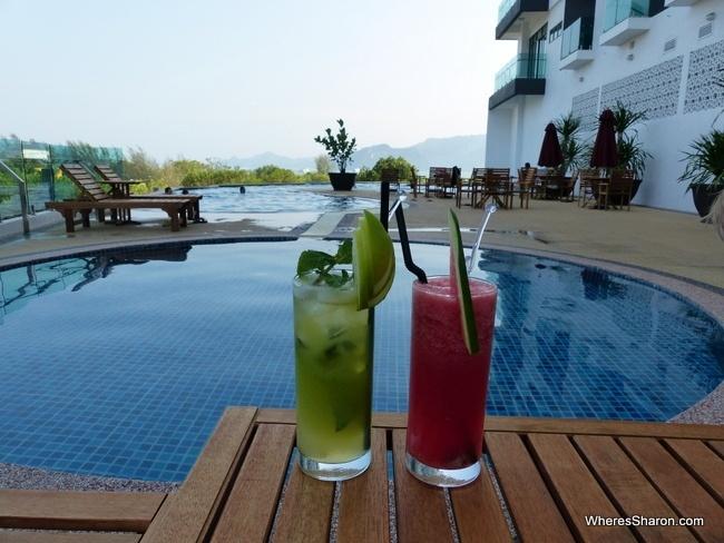 adya hotel infinity pool