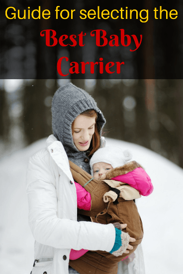 Guide for selecting the best baby carrier