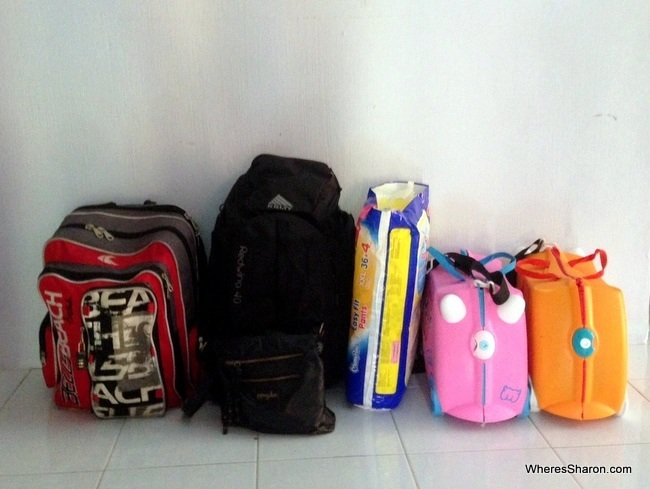 packing list for family