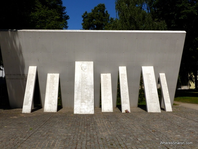 Holocaust Memorial Riga places to see