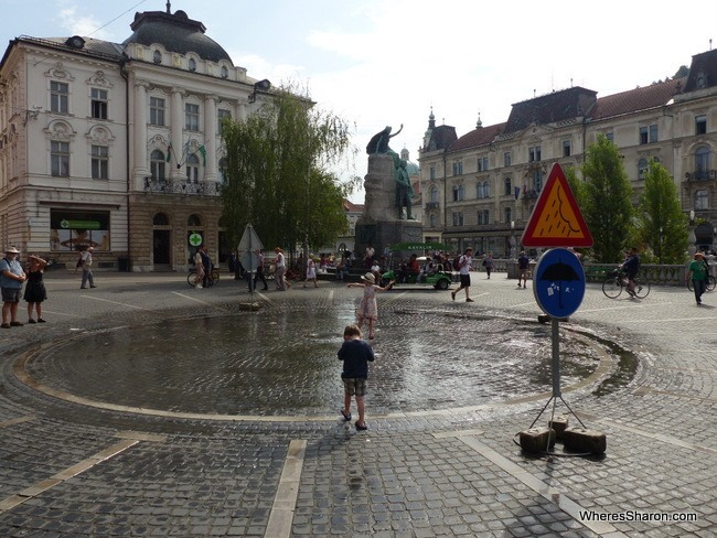 central Ljubljana things to do
