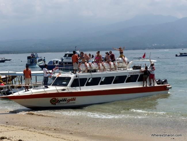 getting from Bali to Gili Trawangan