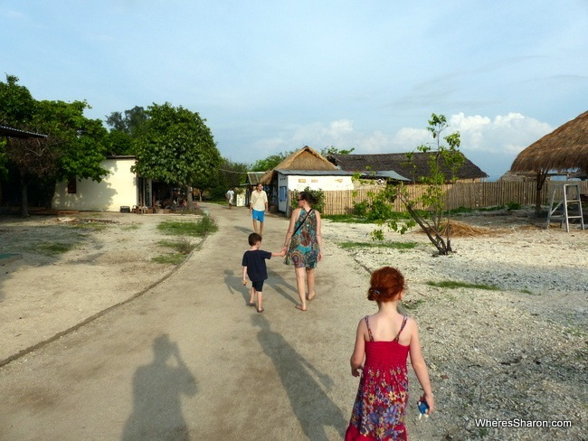 what to do in gili island