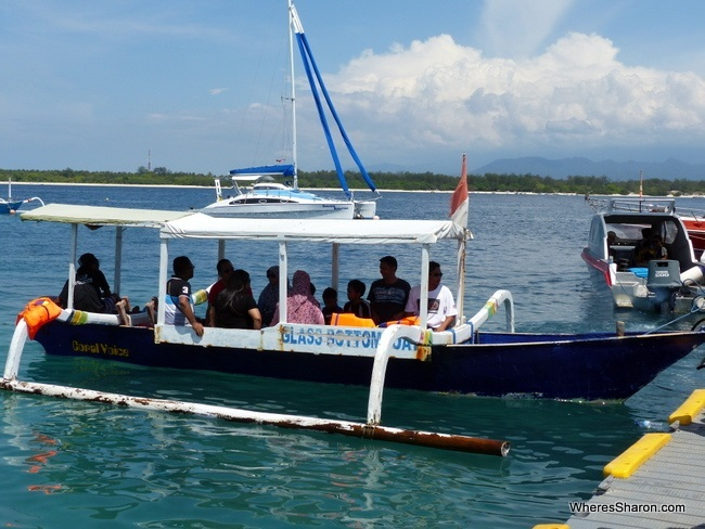 what to do on the gili islands with boats