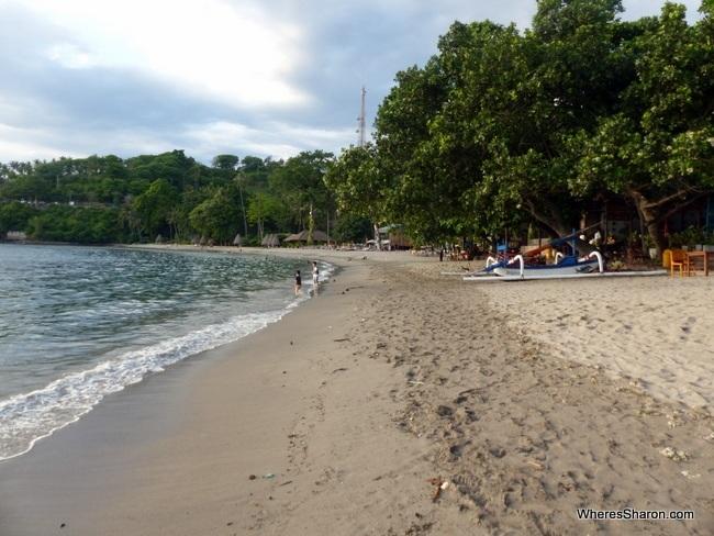 lombok things to do Senggigi Beach