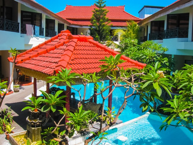 best place to stay in Bali in Kuta hotel