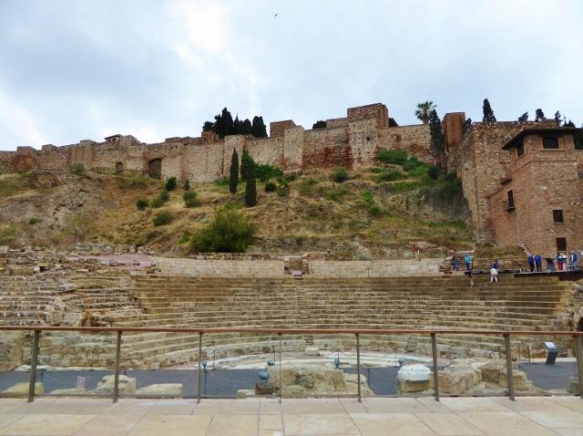 Malaga for kids Roman Theater and Alcazaba