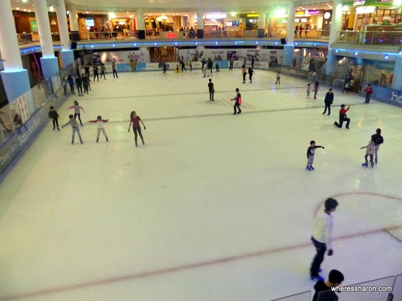 Sunway Pyramid ice skating rink
