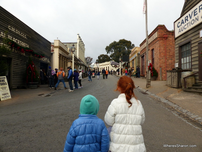 Ballarat what to do at Sovereign Hill
