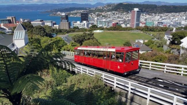 Wellington Cable car.