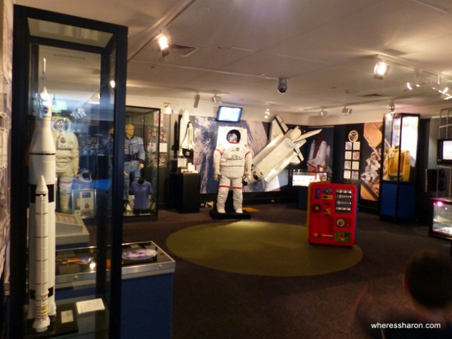 things to do near canberra with space