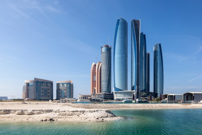 must visit places in abu dhabi at Etihad Twoers
