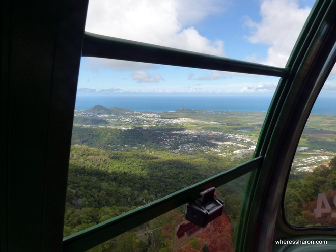 Skyrail Rainforest Cableway views cairns